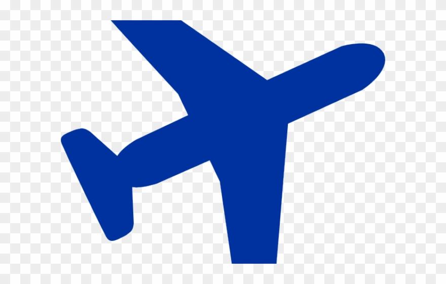 Blue Plane Cliparts.