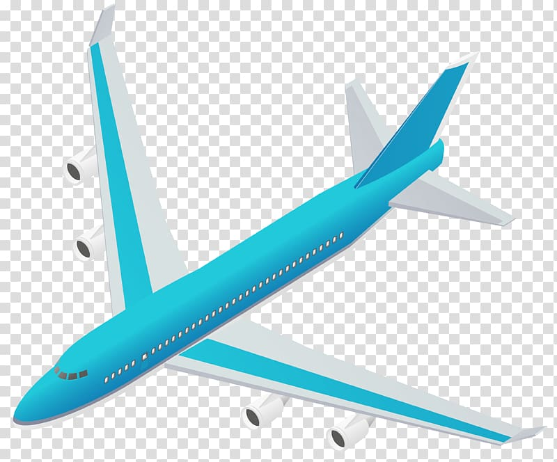 Blue and white airplane illustration, Airplane , Blue.