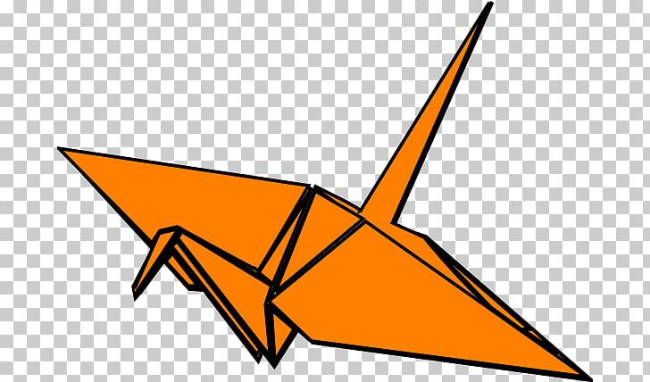 Crane Paper Origami Orizuru , Origami s PNG clipart.