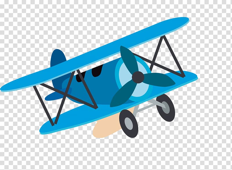 Airplane Child Cartoon , aircraft transparent background PNG.