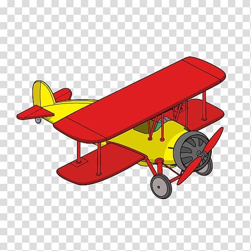 Biplane clipart model airplane, Biplane model airplane.