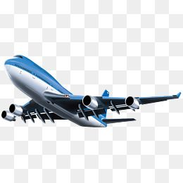 The Plane In The, Plane Clipart, Aircraft, Blue PNG.