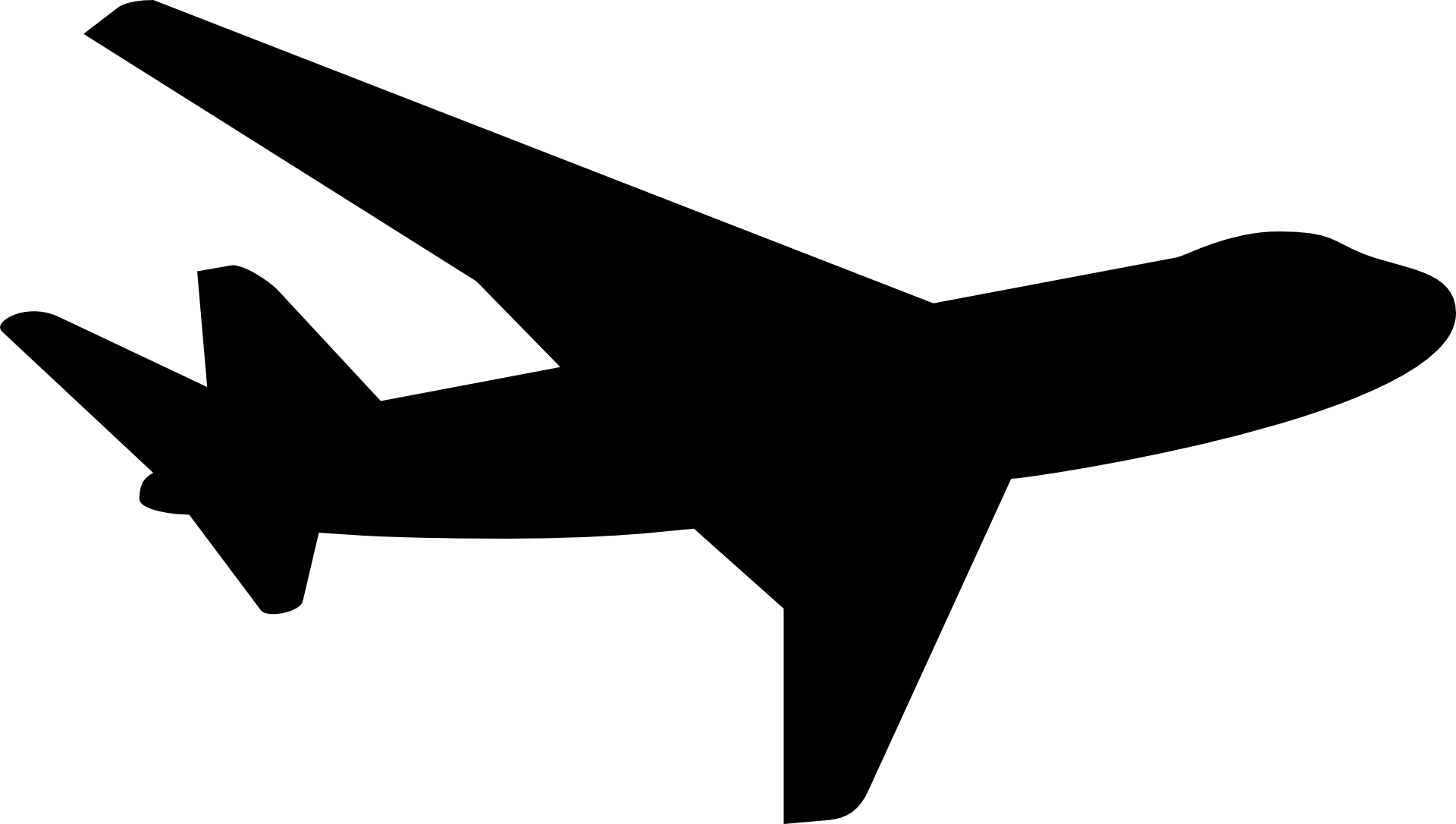 Airplane Silhouette Aircraft Clip art.