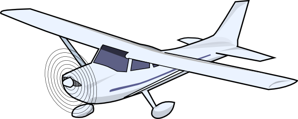 Small Airplane Clipart.