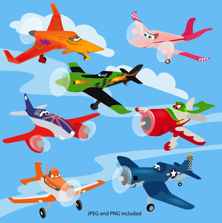 Disney Movie Airplanes Clipart.
