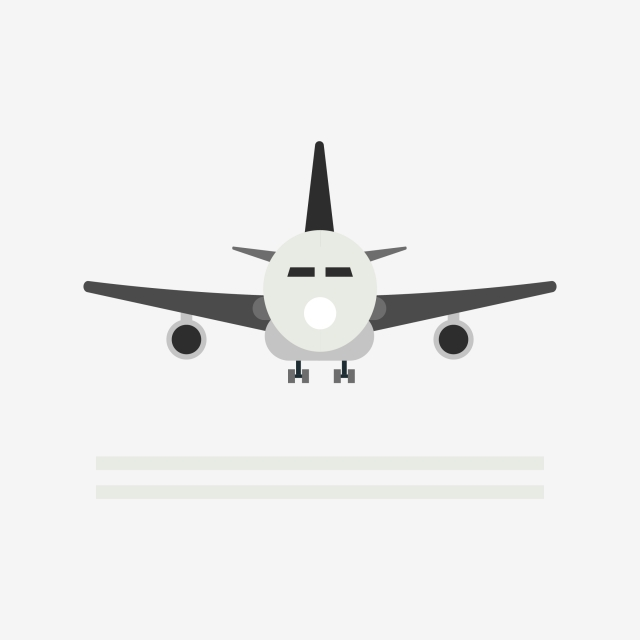 Black Airplane Clipart, Black, Airplane, Clipart PNG and Vector with.
