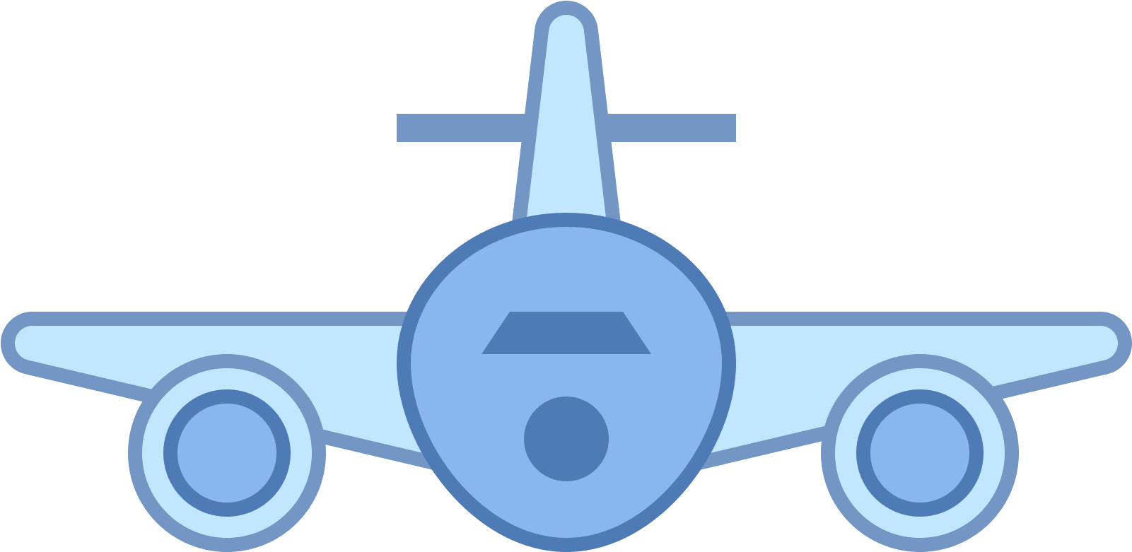Aircraft Clipart Airplane Tail.
