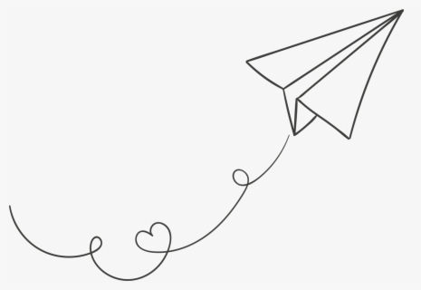 Free Paper Airplane Clip Art with No Background.