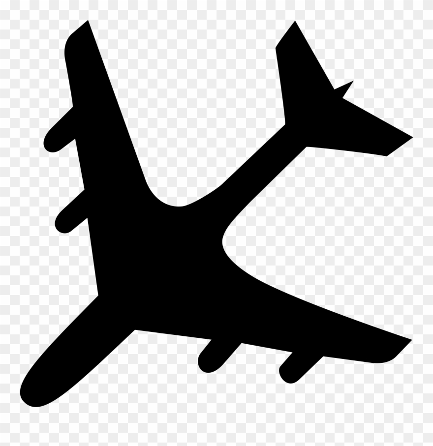 Clipart Airplane Accident.