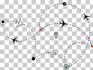 Airplane Flight Aircraft , Heart.