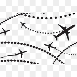 60 Clipart airplane dot for free download on Premium art.