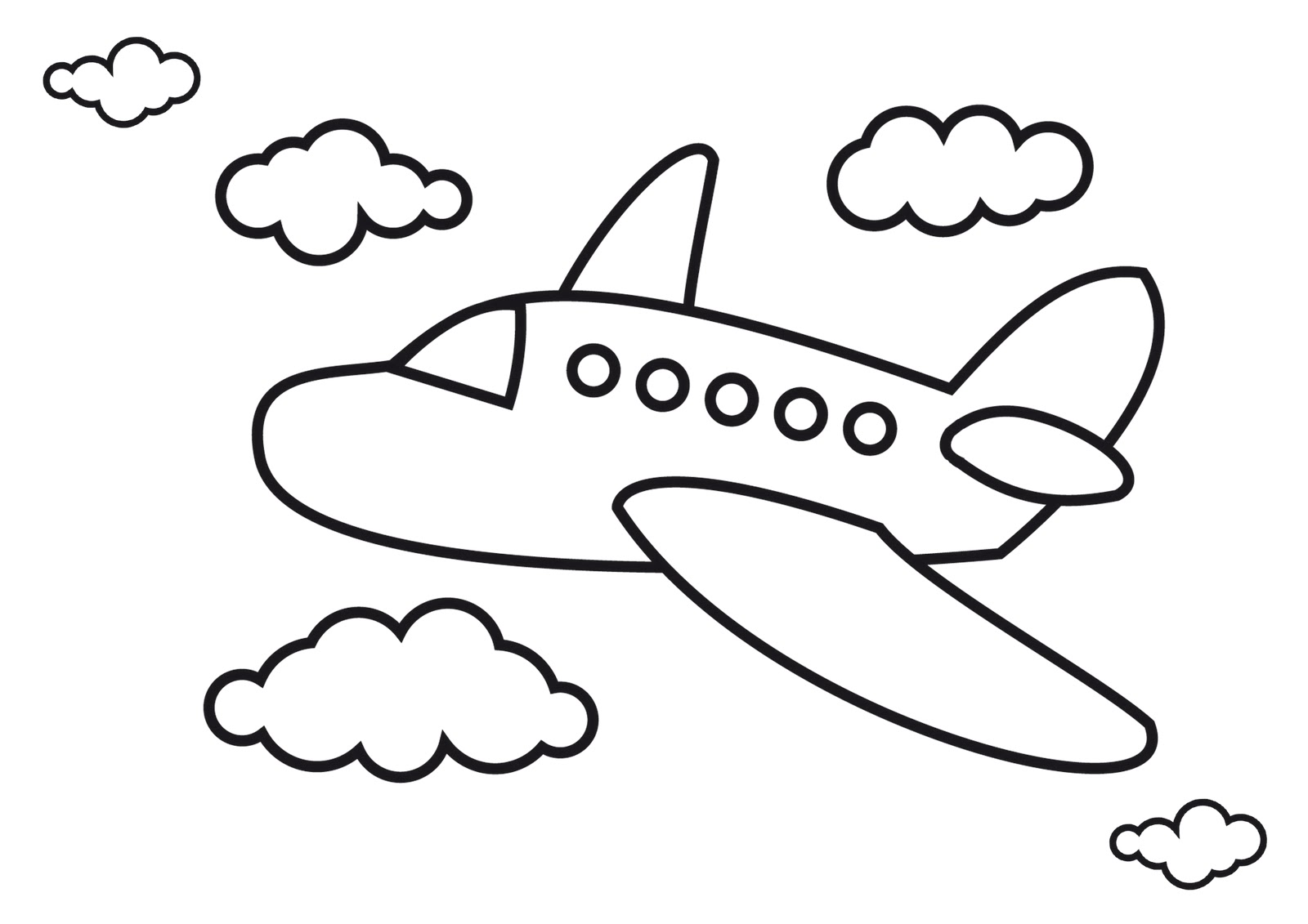 Free Airplane Drawing Pictures, Download Free Clip Art, Free.