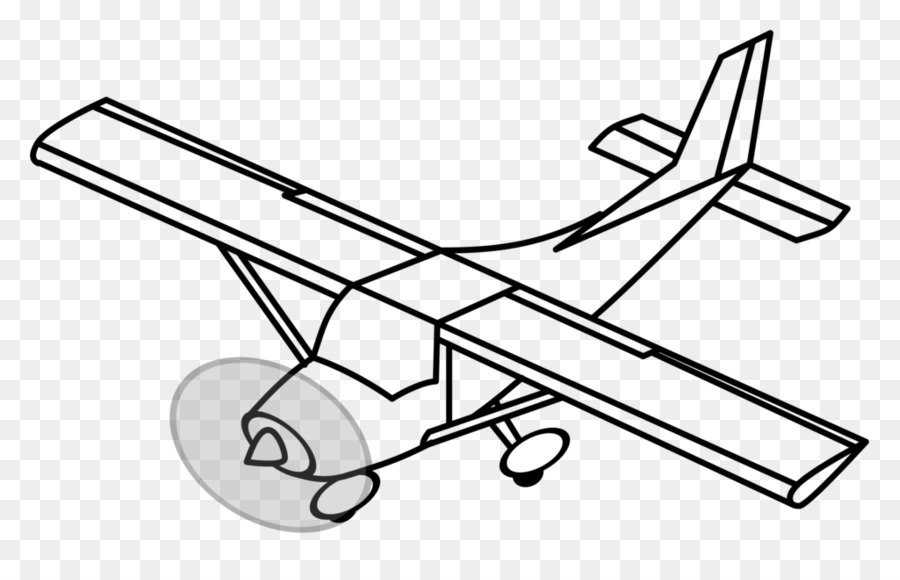 Airplane Drawing clipart.