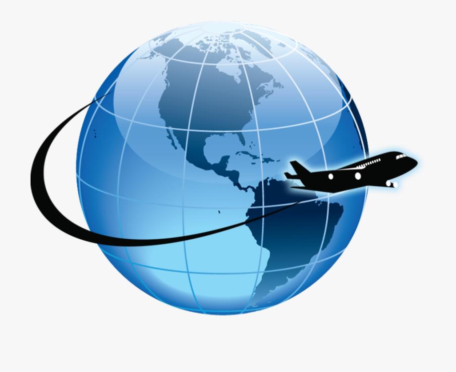 Earth Clipart Airplane.