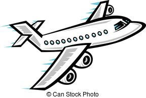 Airplane flying clipart 1 » Clipart Station.