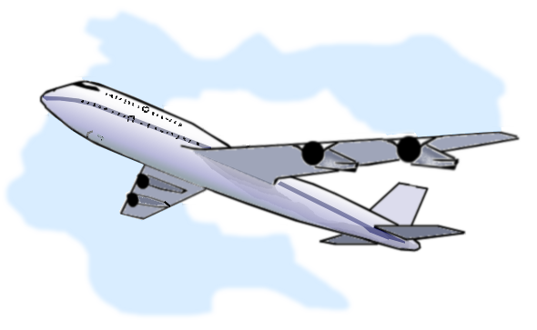 Flying Airplane Clipart Png.