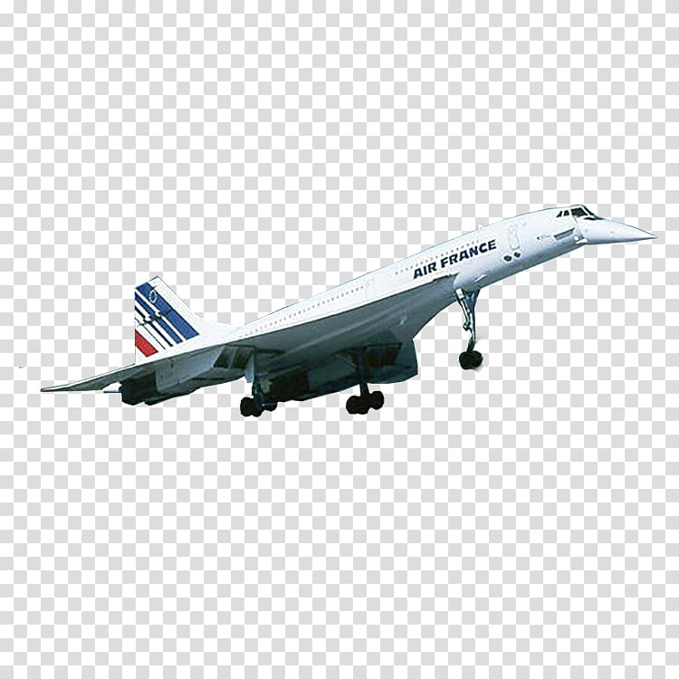 Airplane Concorde Supersonic transport T.