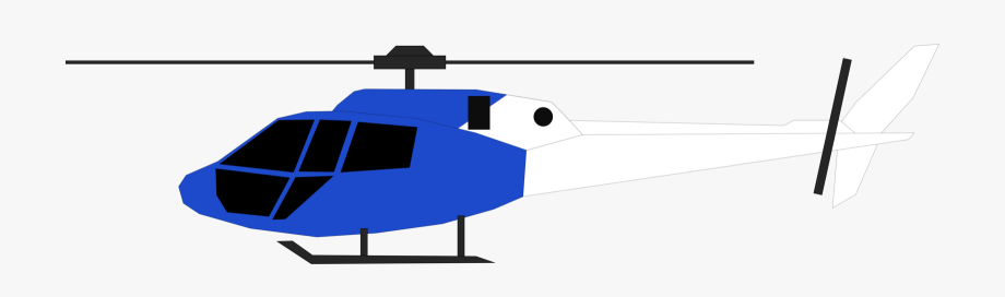 Helicopter Clipart Airplane Hangar.