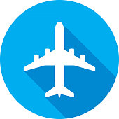 Airplane icons.