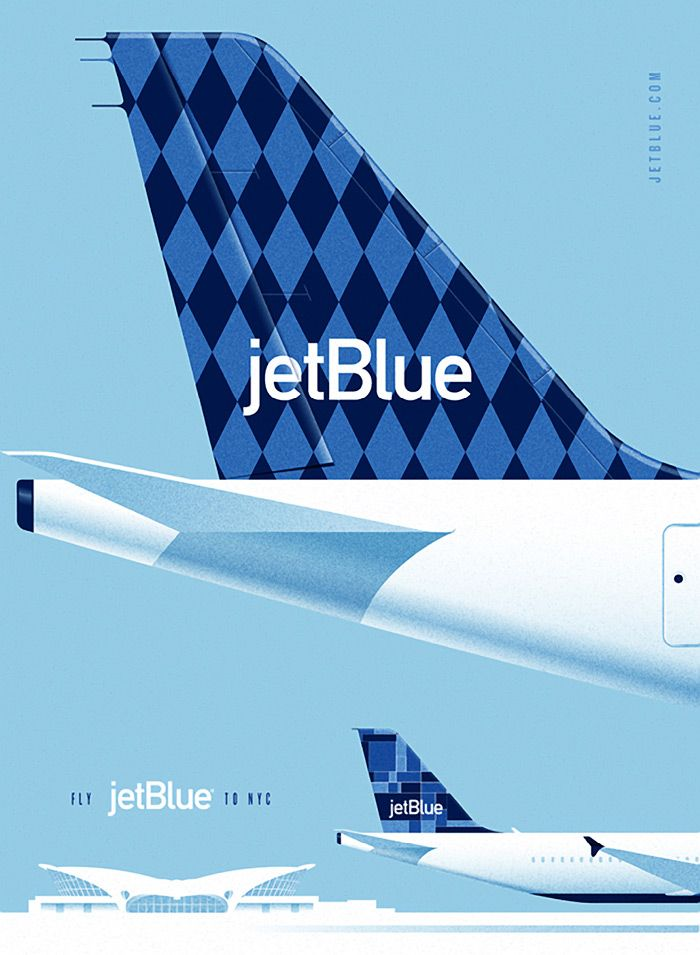 JetBlue Pitch Posters.