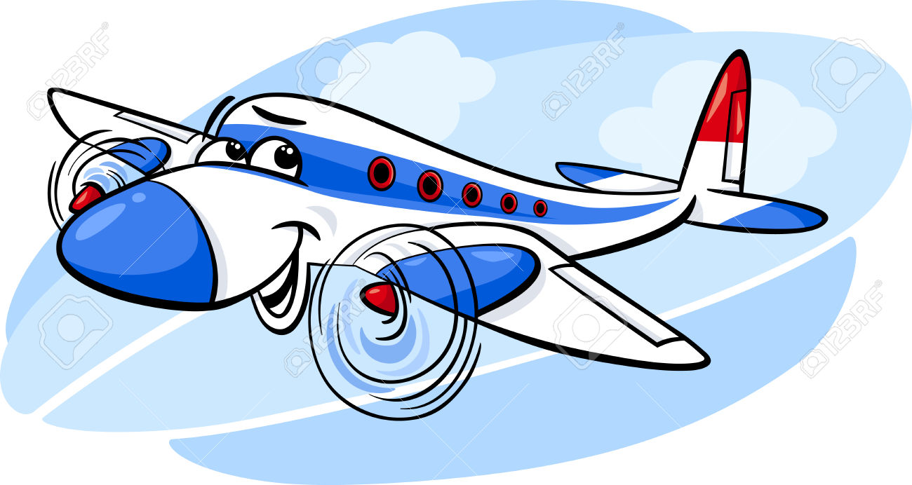 9295 Airplane free clipart.