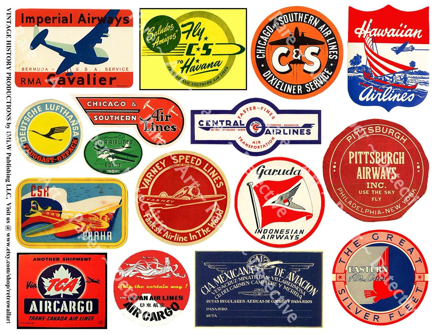 Airplane Adventure Stickers, Airplane Stickers, Airline Clip.