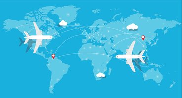 Clipart airplane map, Clipart airplane map Transparent FREE.