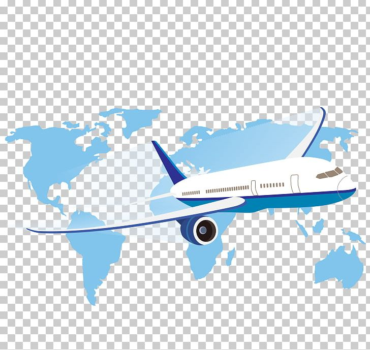 World Map Airplane PNG, Clipart, Aircraft, Airline, Airliner.