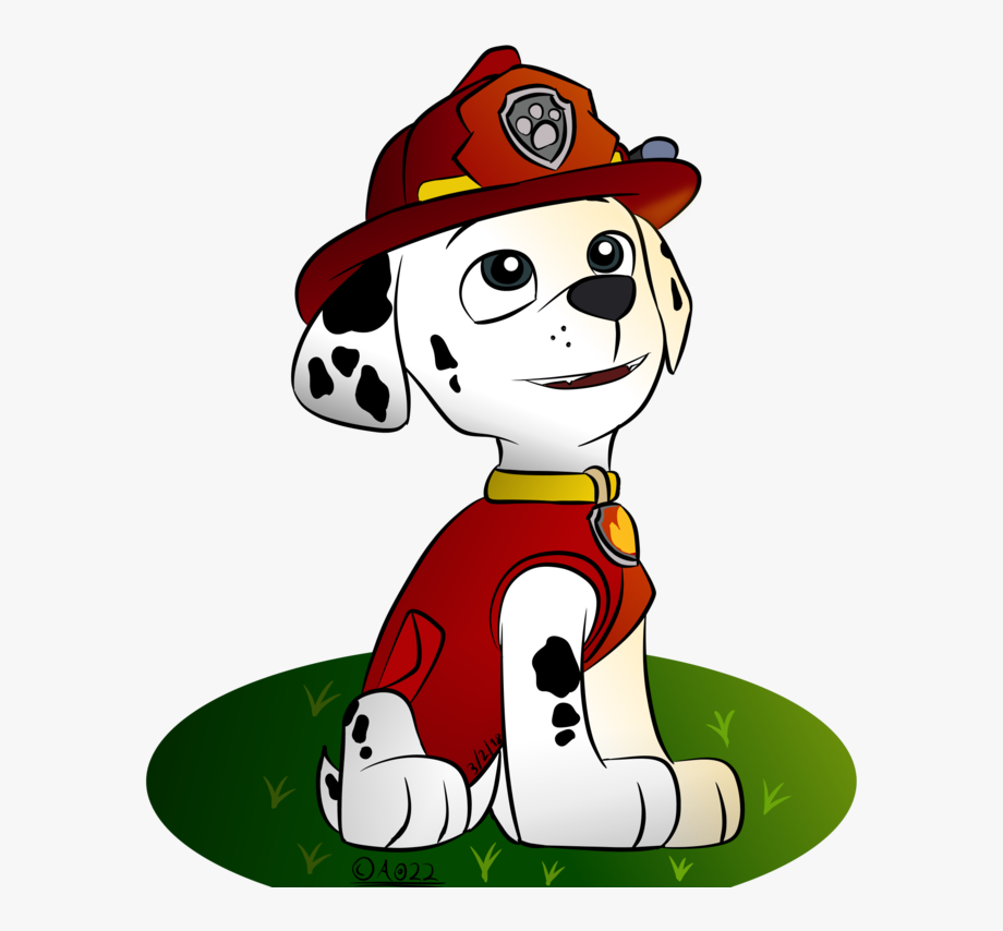 Clipart Freeuse Paw Marshall Drawing At.