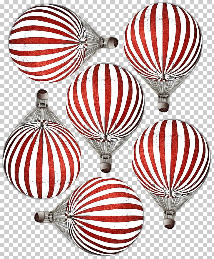 Hot air balloon Airplane Christmas ornament Flight, hot air.