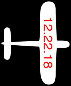Airplane Outline Clip Art at Clker.com.
