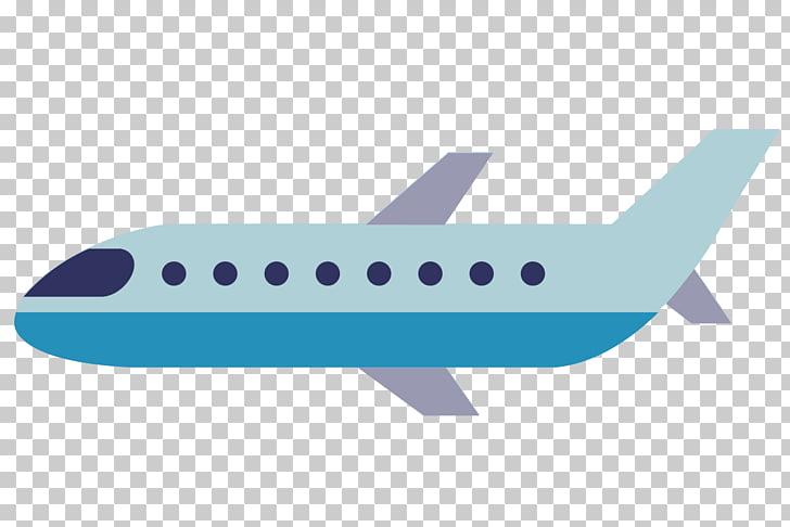 Airplane Aircraft Animation Cartoon, Cartoon plane, blue.