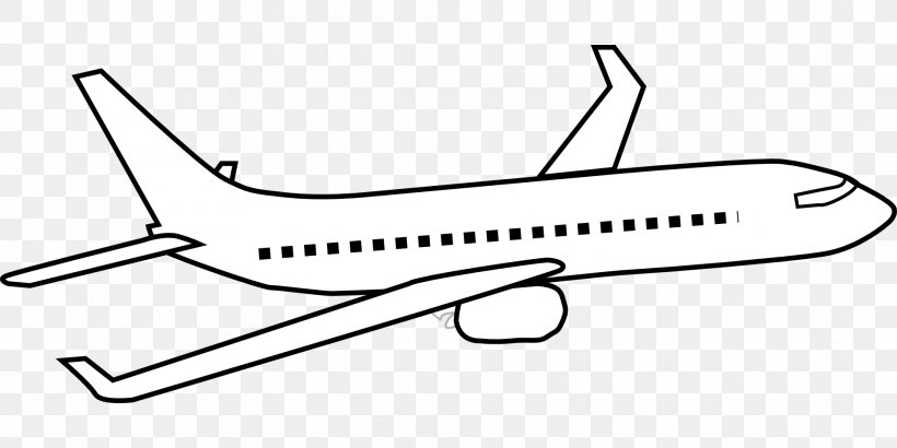 Airplane Aircraft Drawing Clip Art, PNG, 1920x960px.