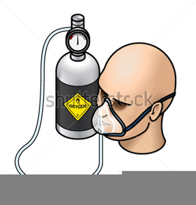 Clipart Airplane Oxygen Mask.