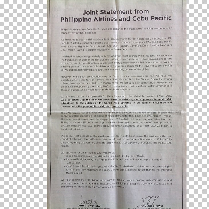 Document, philippine airlines PNG clipart.