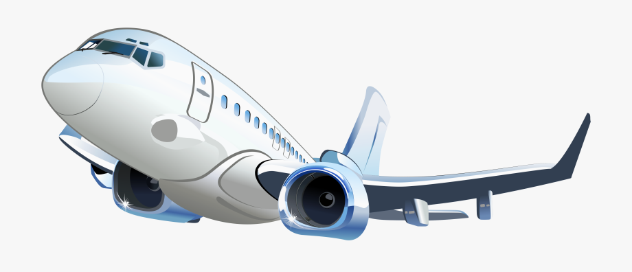 Free Airplane Png Background Image.