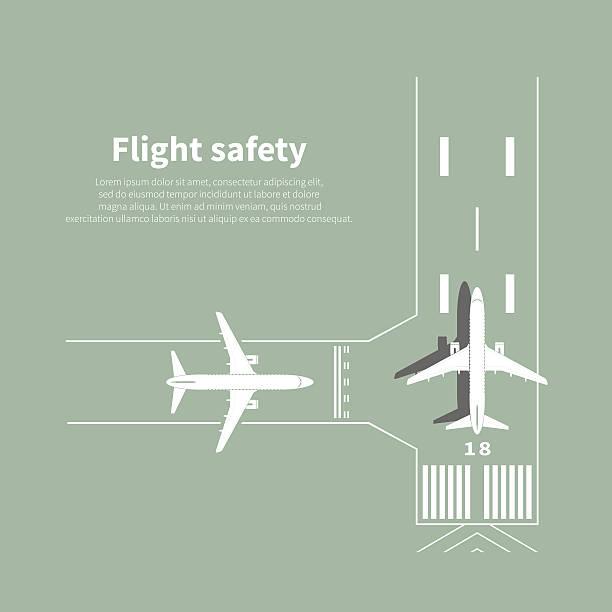 Best Airplane Runway Illustrations, Royalty.