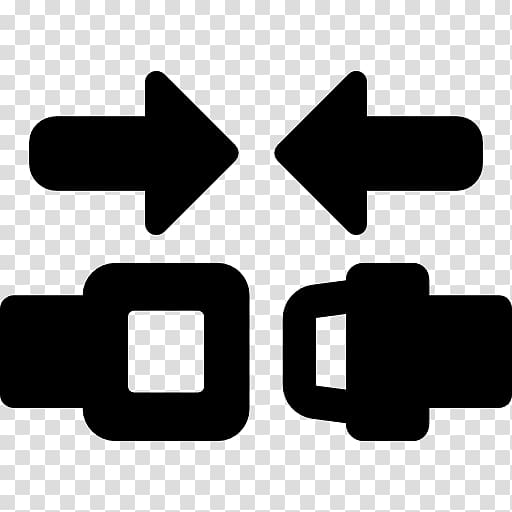 Seat belt Computer Icons Airplane, free buckle transparent.