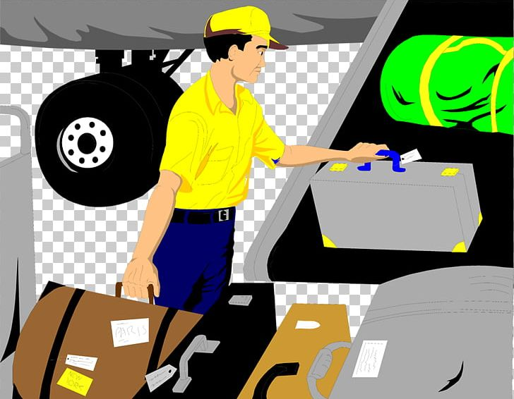 Airplane Baggage Handler PNG, Clipart, Airplane, Airport.