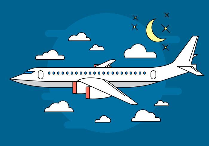 Airplane Free Vector Art.