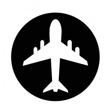 Airplane Icon PNG Images.