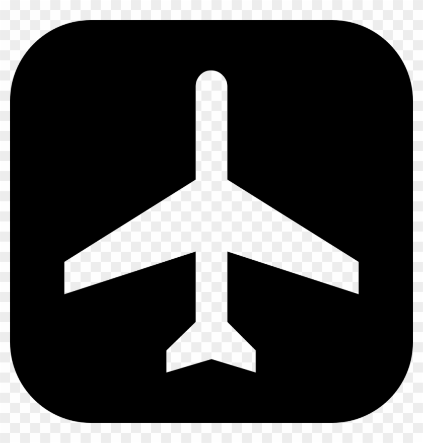Airplane Silhouette Png.