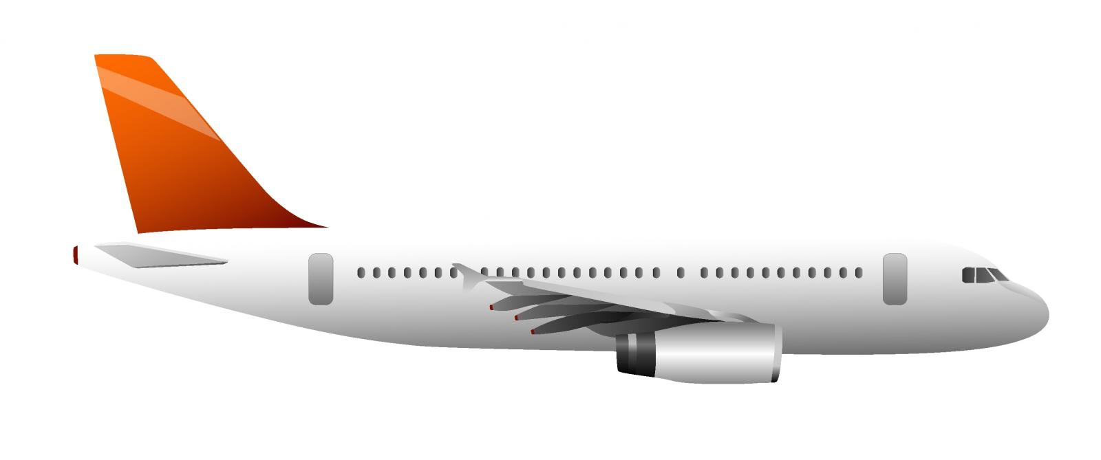 5659 Plane free clipart.