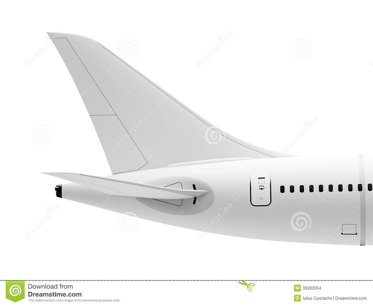TAIL PLANE CLIPART.