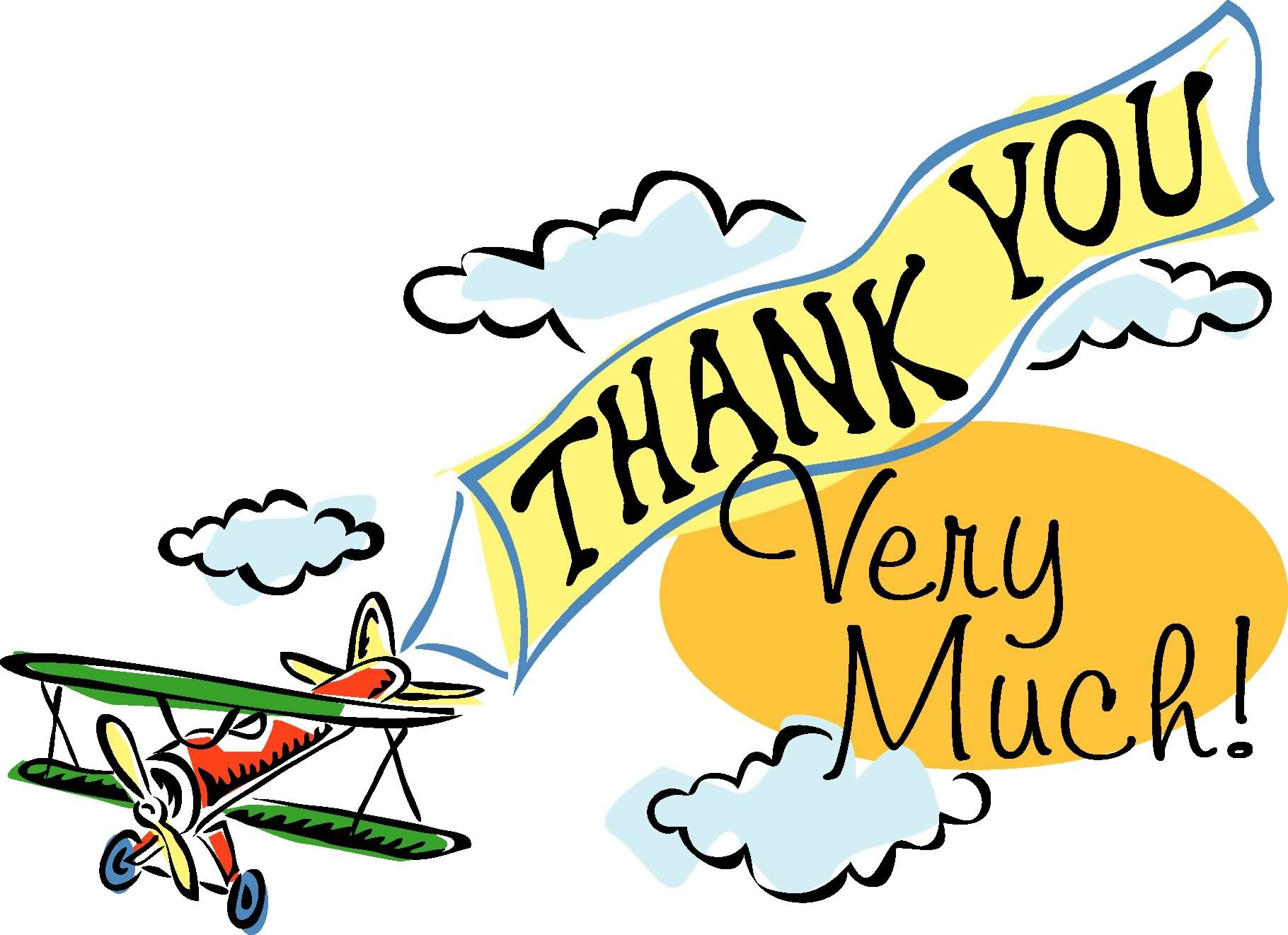 Thank You Very Much Clip Art free image.