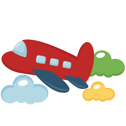 Plane toy clipart.