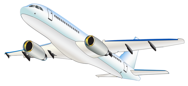 Airplane Transparent Clipart.