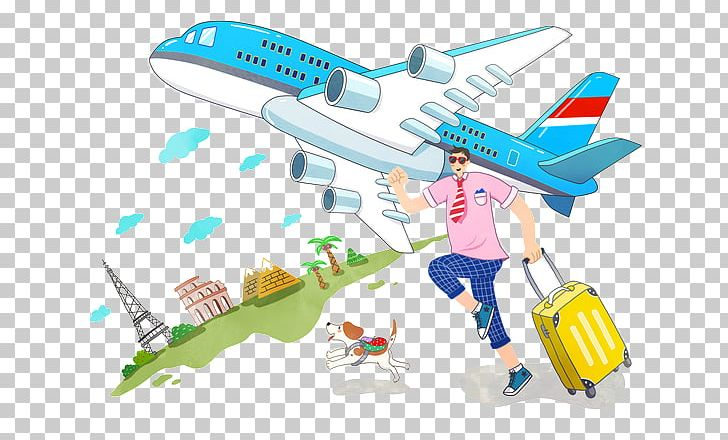 Airplane Travel Flight PNG, Clipart, Aircraft, Airplane.