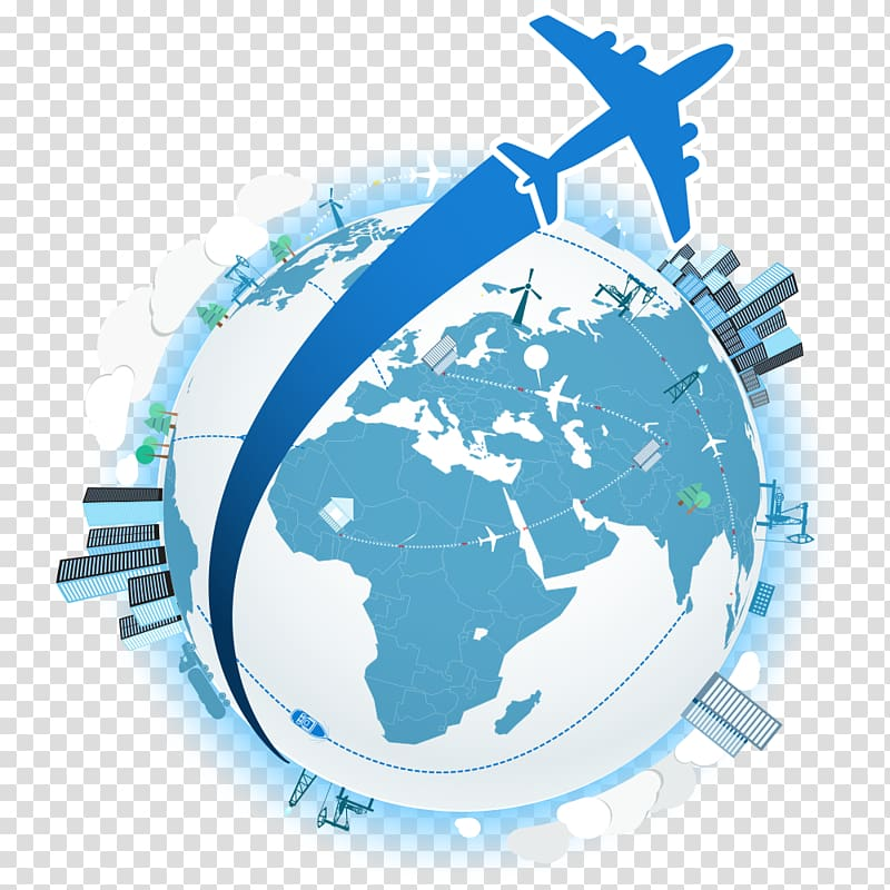 Airplane Air travel, travel agency transparent background.