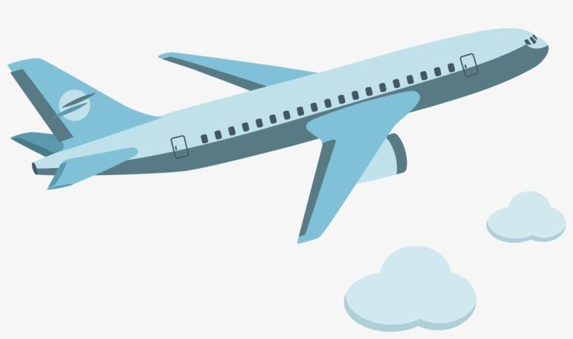 Airplane Aircraft Icon Vector.